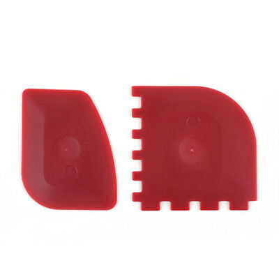 Grill Pan Scrapers Red Durable 2 Pack Silicone Lodge Dishwasher Safe