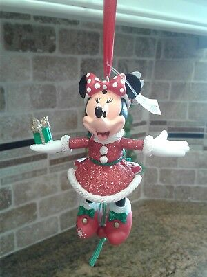New! Disney Parks Puppet Minnie Mouse 2016 Christmas Ornament NWT