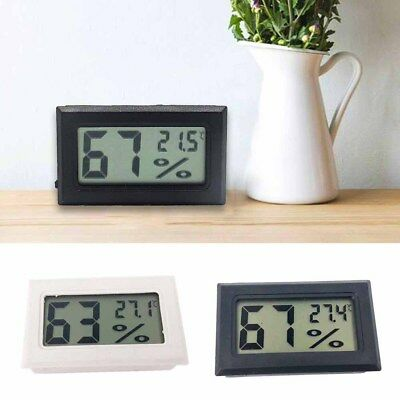Mini Digital LCD Temperature Humidity Thermometer Meter Hygrometer Black/White