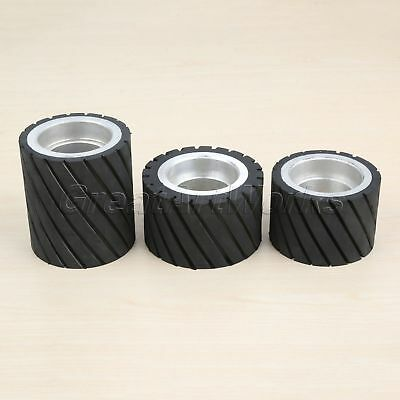 Abrasive Polishing Buffing Contact Rubber Wheel Belt Grinder Cutting Tool 3 Type
