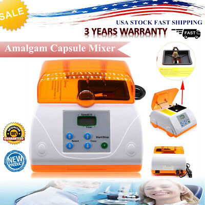 Dental Digital High Speed HL-AH G7 Amalgamator Amalgam Capsule Mixer LCD Display
