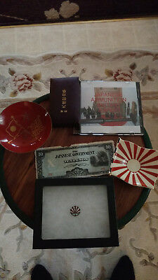 WWII Imperial Japanese Army / Navy Lot #2 Of Misc. Items.