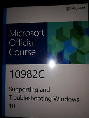 Microsoft Official Course 10982C