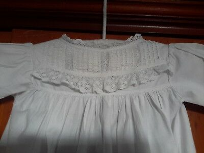 Vintage Christening Gown Small