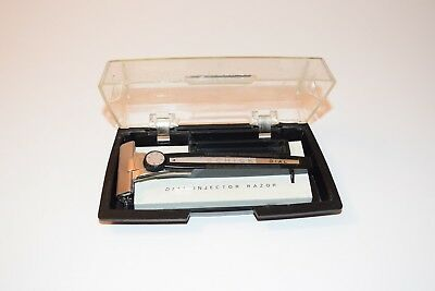 Vintage Rare Safety Razor SCHICK  Dial Adjustable Injector M16 with Original Box