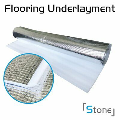 3in1-3mm Thick Floor Underlayment Laminate Wood Foam Pad Great Sound Reduction