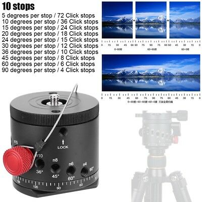 DH-55D 360 Panoramic Panorama Indexing Rotator Ball Head For Tripod DSLR Camera