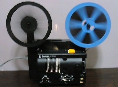 Sankyo P-1500 Super 8 PROJECTOR ADJUSTABLE SPEED in Box ~SERVICED~