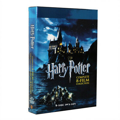 Harry Potter Complete 1-8 Movie DVD Collection Films Box Set New Sealed UK