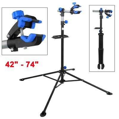 Pro Adjustable Height Bike Repair Stand Bicycle Maintenance Rack Workstand FA