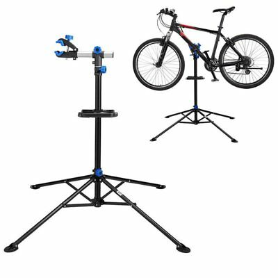 """Pro Bike Adjustable 41"""" To 74'' Cycle Bicycle Rack Repair Stand w/ Tool Tray FA"""