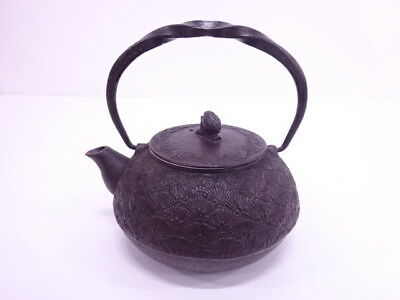 3931209: Japanese Nanbu Tekki / Iron Kettle / Artisan Work