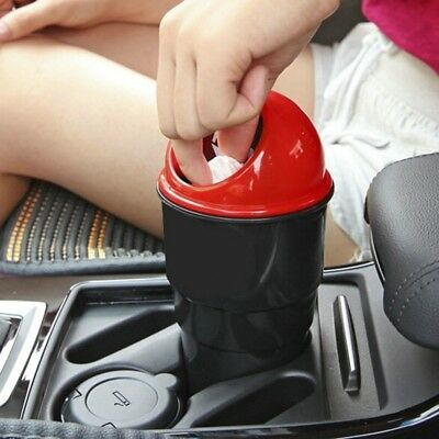 Auto Car Garbager Can Trash Garbage Dust Case Holder Bin for Home Office Nice