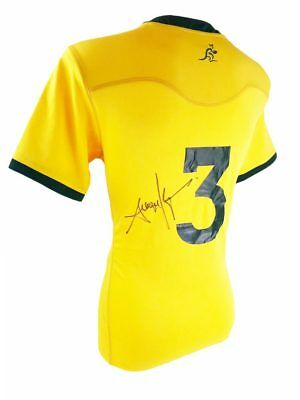 Signed Sekope Kepu Wallabies Jersey - Australia Rugby + *photo Proof*