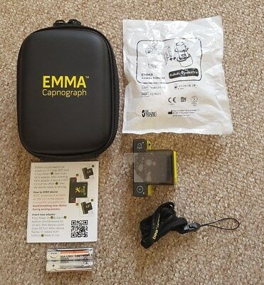 Masimo EMMA Emergency Capnograph (With Warranty)