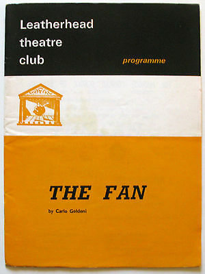 The Fan Leatherhead George Pensotti Gillian Webb Debbie Bowen Peter Beton
