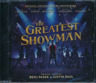Greatest Showman The Soundtrack CD NEW Hugh Jackman Zac Efron