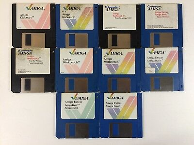 Lot of Official Amiga Disk Software (Commodore Amiga Computers) 3.5 Floppy