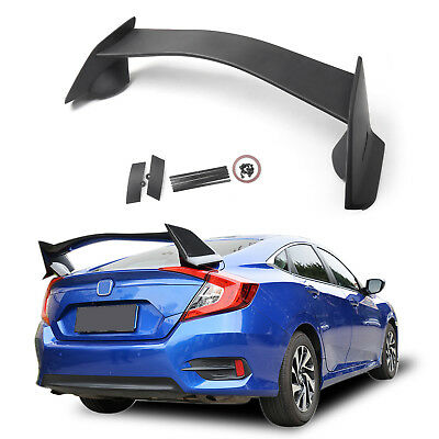 Alerón Posterior Rear Trunk Wing Spoiler Para Honda Civic 4Dr Sedan 2016-2018
