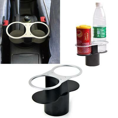 Travel Car Dual Cup Holders Can Holder Valet Coffee Bottle Holders Table Stand &