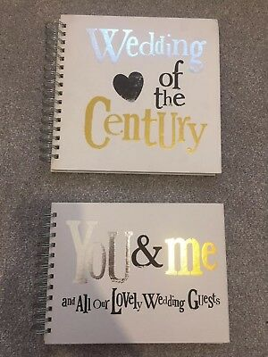 Gold/ Silver Wedding & Guest Book By The Bright Side