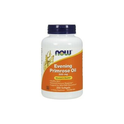 NOW FOODS, EVENING PRIMROSE ÖL 500mg 250 Weichkapseln !!! EXTRAPREIS !!!