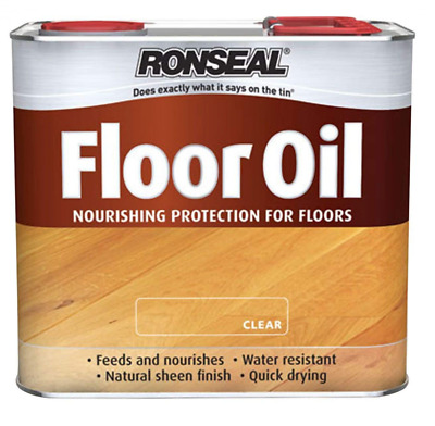 Ronseal 36368 Floor Oil, Clear, 2.5L