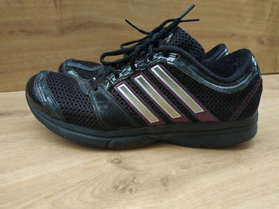 WOMENS ADIDAS CLIMACOOL adiprene Running Sports Shoes Trainers Size 7.5UK Black