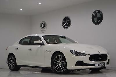 2014 Maserati Ghibli 3.0TD 274ps s/s Auto+FDSH+2 KEYS+LONG MOT+ROSSO LEATHER+PX+