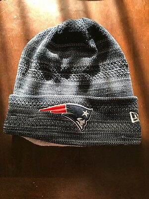 NFL New Era New England Patriots Beanie Hat Knit Cuffed Cap. BNWT TD KNIT