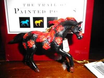 Painted Ponies  2008 WESTLAND Ornament EXCLUSIVE MAPLE  LEAF Only 1 listed HTF