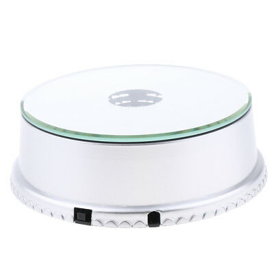 USB&Battery Operated Electric Mirrored Display Turntable Base Rotating Stand