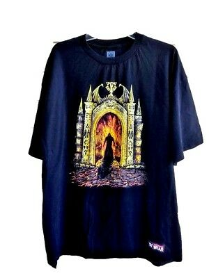Authentic Wear Men's T-Shirt 2X Halloween Never Summon The Dead Tee-shirt