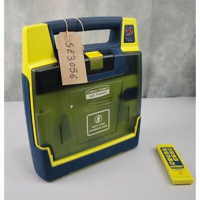 Cardiac Science G3 AED Training Defibrillator with NEW Remote Controller