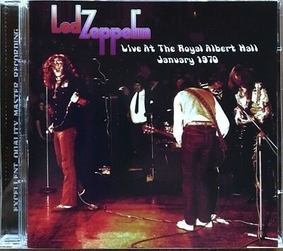 """Led Zeppelin """"live At The Royal Albert Hall 1970"""" Rare Double Cd Live !"""