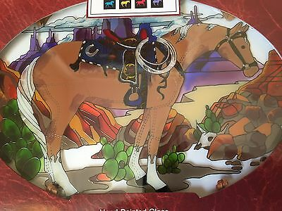 """Palomino Horse Suncatcher The Trail of Painted Ponies """"Happy Trails"""" Horse NIB"""