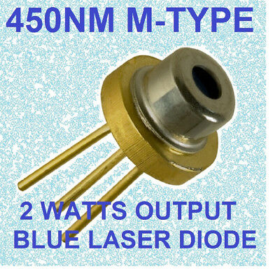blue laser diode  nichia M1402w M-type LOW HOURS 450nm  blue beam laser diode