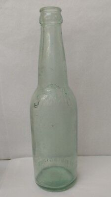 VINTAGE TEAL / GREEN TECH BEER BOTTLE - PITTSBURGH PA BREWING CO. - Rare