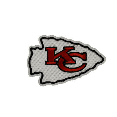 2018 NFL playoff  Kansas City Chiefs badge DIY embroidered iron on patch cloth