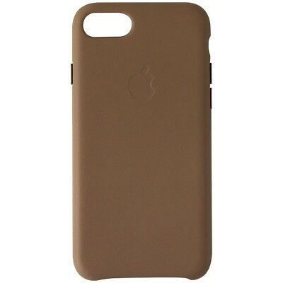 Official Apple Genuine Leather Case for iPhone 8 and 7 - Taupe Brown (MQH6SZM/A)