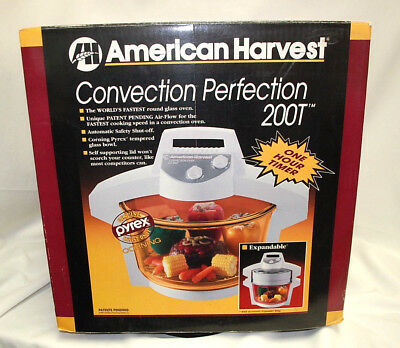 American harvest convection perfection co200t 1200w counter top.