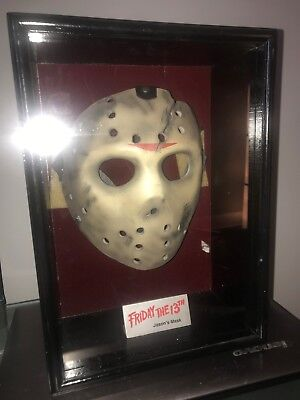 NECA Friday the 13th Jason Voorhees Mask in Display LE of 812/1000