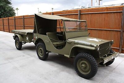 1941 Ford gp GPW 1941 Ford GP prototype 1st series with Bantam trailer WW2 gpw  Jeep