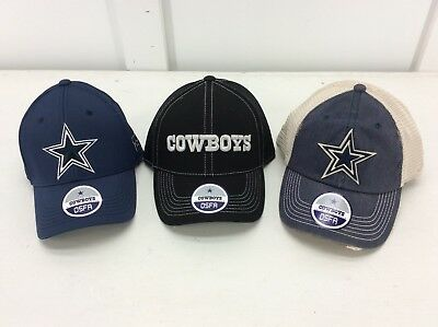 DALLAS COWBOYS - NFL Mens baseball hats -ONE SIZE- Choose from 3 styles -- NEW