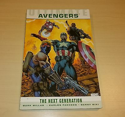 Ultimate Comics AVENGERS The Next Generation by MARK MILLAR -  MARVEL
