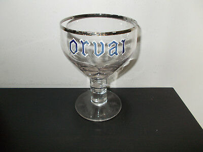 oud emaille bierglas Trappist Orval