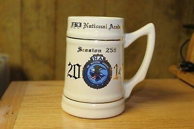 FBI National Academy Vintage Stein Mug Made in the USA Session 256 2014