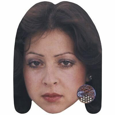 Vicky Leandros (Young) Maske aus Pappe