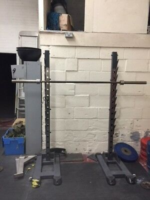 Squat & Press Stands Rack Full Commercial U208-R Black Series Indigo Fitness