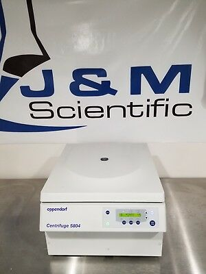 Eppendorf 5804 Benchtop Centrifuge with A-4-44 rotor